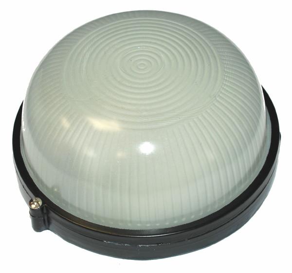Светильник НПБ 60 Вт круглый влагозащищенный (IP 54),черный