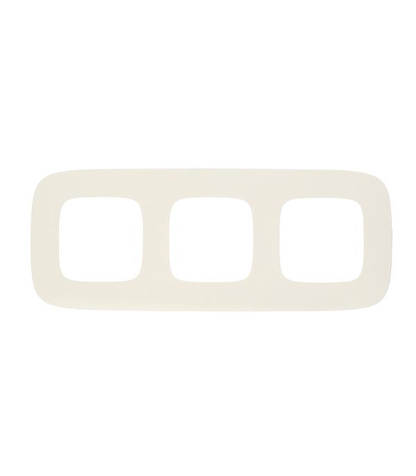Рамка трехместная универсальная Legrand Valena Allure белая