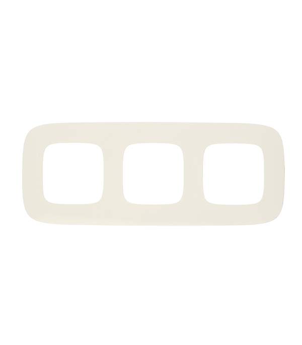 Рамка трехместная универсальная Legrand Valena Allure белая  рамка legrand valena четырехместная белая 774454