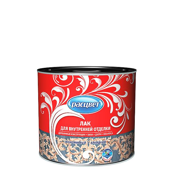Лак для внутренней отделки алкидный Расцвет 1,9 кг