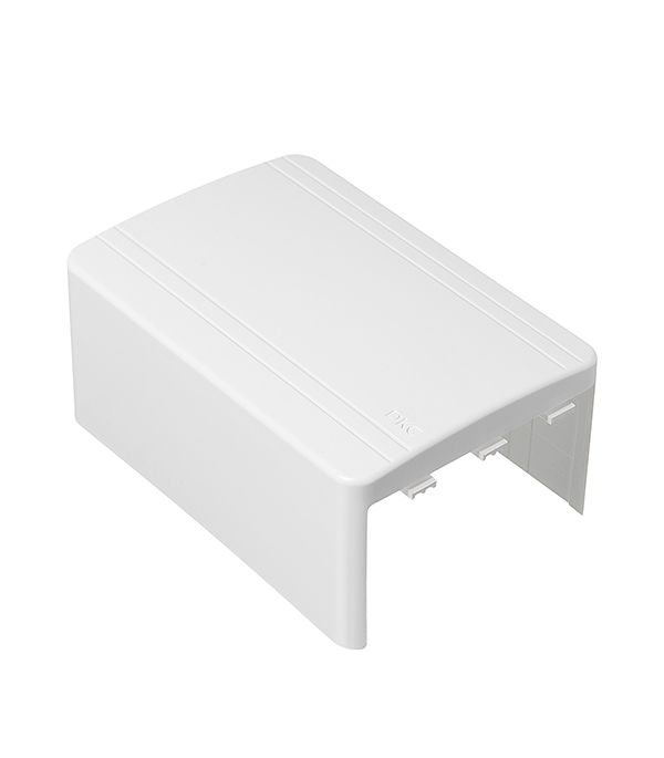 Тройник/отвод для кабель-канала ДКС 100х60 мм белый тройник отвод для кабель канала дкс 80х40 мм белый
