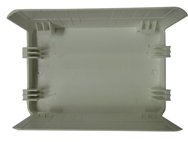 Тройник/отвод для кабель-канала ДКС 100х60 мм белый