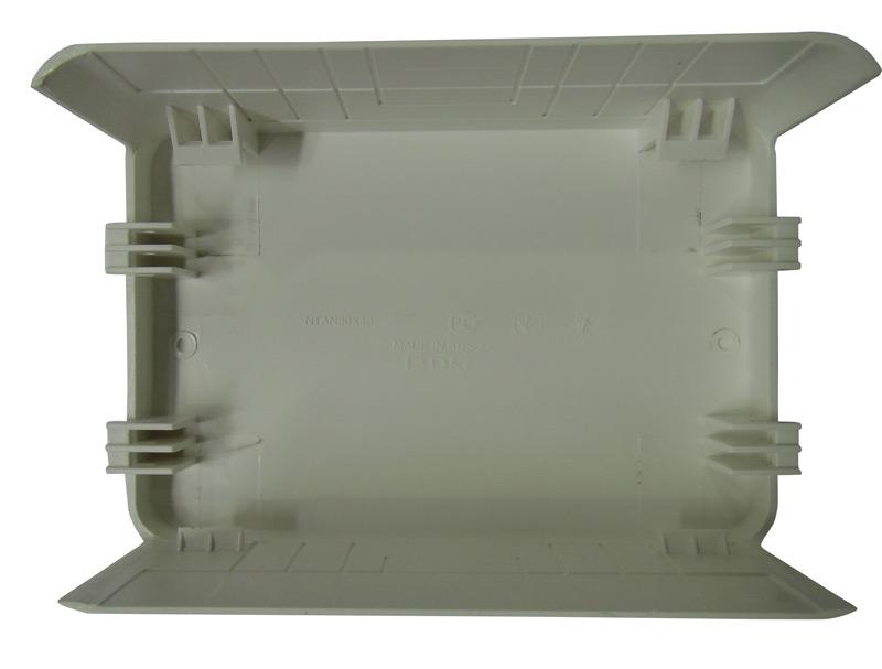 Тройник/отвод для кабель-канала ДКС  80х40 мм белый