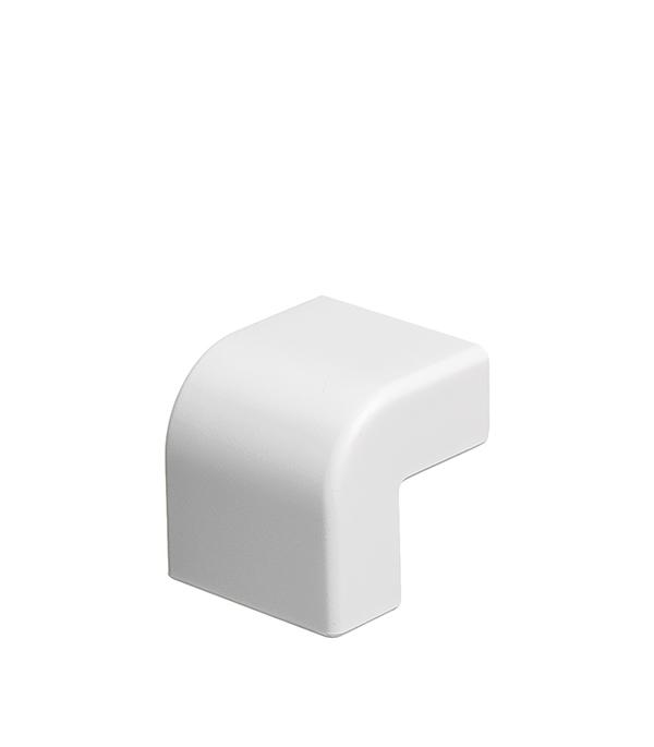 Внешний угол для кабель-канала ДКС 22х10 мм белый  угол изменяемый внешний dkc 1шт серый 01052