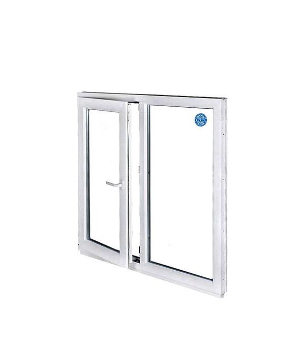 Окно металлопластиковое REHAU 1440х1450 мм белое поворотно-откидное левое окно металлопластиковое rehau 1440х1160 мм белое 2 створки поворотно откидное правое поворотное