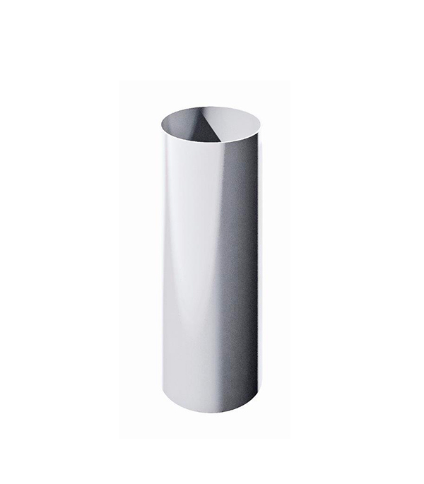 Труба водосточная пластиковая d90 мм белая 1,5 м Технониколь