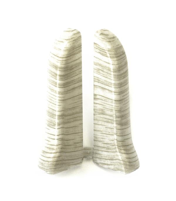 Заглушки торцевые (левая+правая) Клен вермонт 67 мм