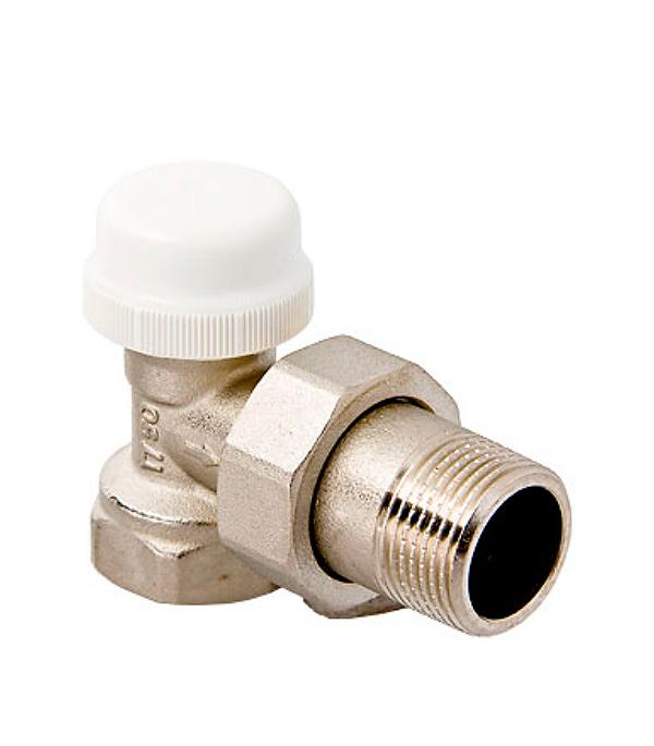 Вентиль терморегулирующий угловой 1/2 Valtec вентиль угловой для подключения grohe eggeman 1 2