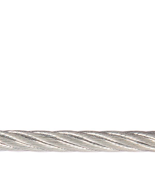 Трос стальной оцинкованный d3 мм DIN 3055 (20 м)