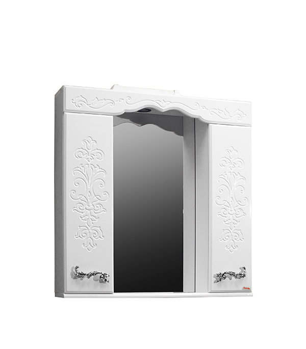 Шкаф зеркальный Фламенко 810 мм