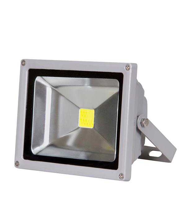 Прожектор cветодиодный  30 Вт, 6500K (холодный свет), серый