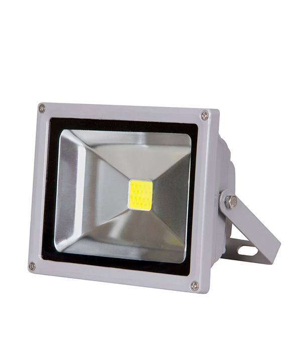 Прожектор cветодиодный  50 Вт, 6500K (холодный свет), серый