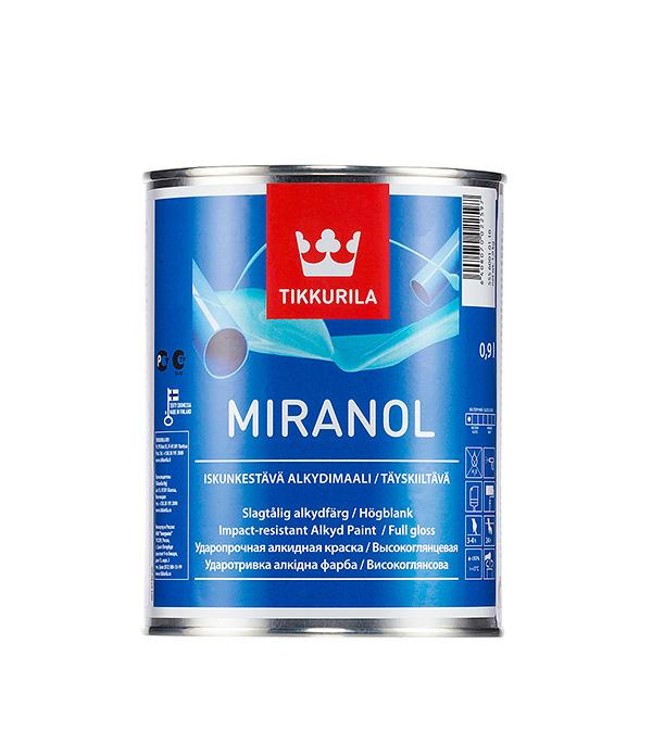 цена на Эмаль алкидная Tikkurila Miranol основа С глянцевая 0.9 л