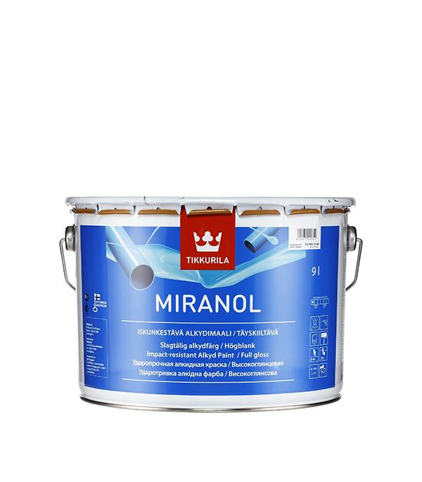 цена на Эмаль алкидная Tikkurila Miranol основа С глянцевая 9 л