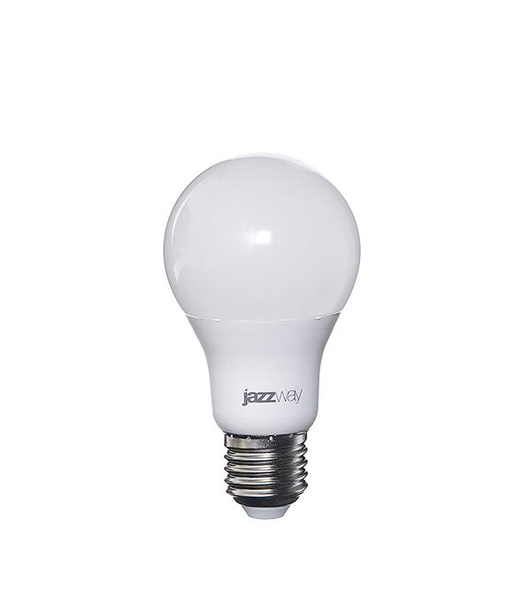 Лампа светодиодная E27,  10W, A60 (груша), 3000K (теплый свет), Jazzway