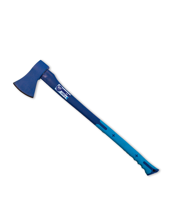 Топор валочный 1 кг фибергласовая ручка Стандарт