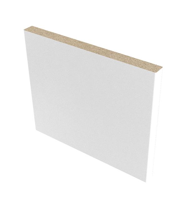 Доборная планка финиш-пленка белый 120х8 мм