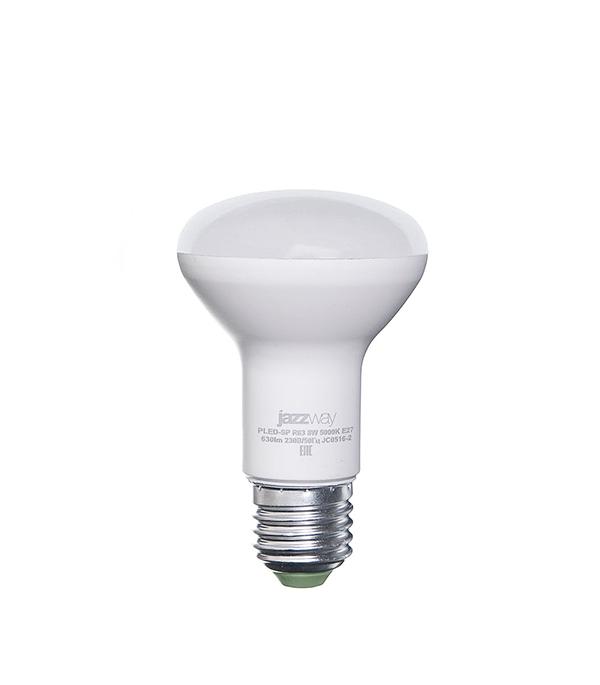 Лампа светодиодная E27, 8W, R63 (рефлектор), 5000K (холодный свет), Jazzway
