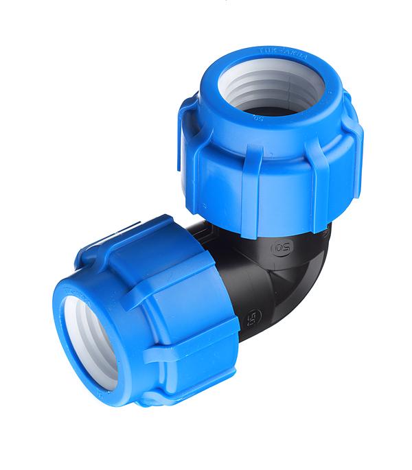 Угол ПНД компрессионный 50х50 мм угол пнд компрессионный 20х20 мм