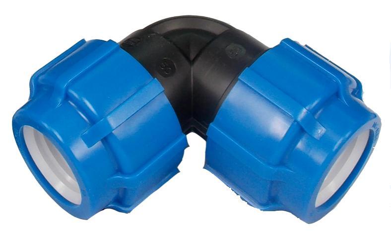 Угол ПНД компрессионный 50х50 мм