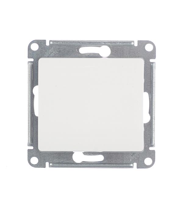 Механизм переключателя одноклавишного с/у Schneider Electric Glossa белый