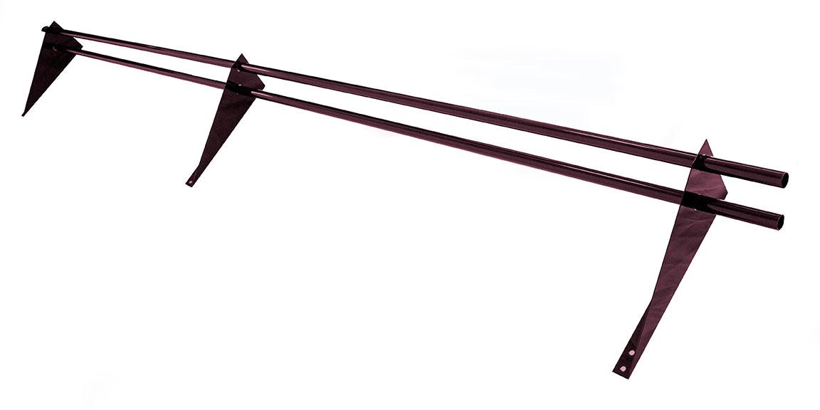 Снегозадержатель трубчатый 3 м красное вино RAL 3005