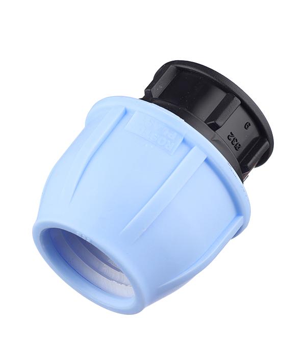 Заглушка компрессионная PN16 d 32 для ПЭ труб, РТП