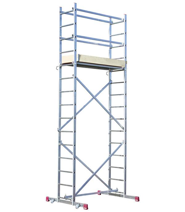 Вышка-тура Krause алюминиевая 4 м рабочая высота 5 м пленка тонировочная mtf original 5% 0 5 м х 3 м