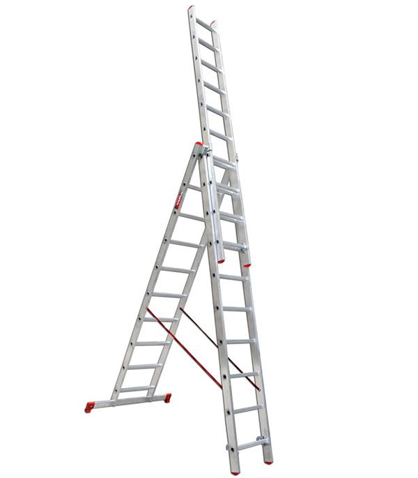 Лестница  3-х  секционная бытовая 3х10 Vira Эконом