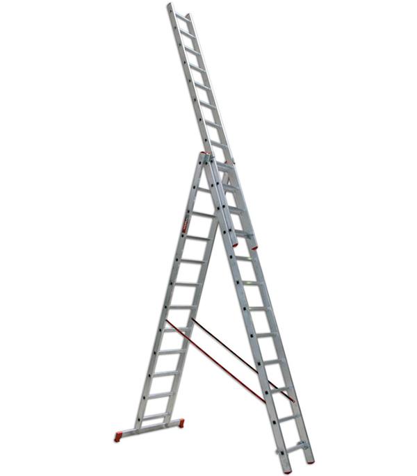 Лестница 3-х секционная бытовая 3х12 Vira Эконом