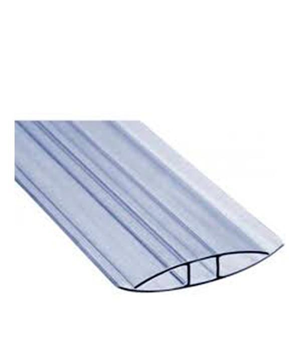 где купить  Профиль для поликарбоната соединительный Н-образный 10 мм 6000 мм  по лучшей цене