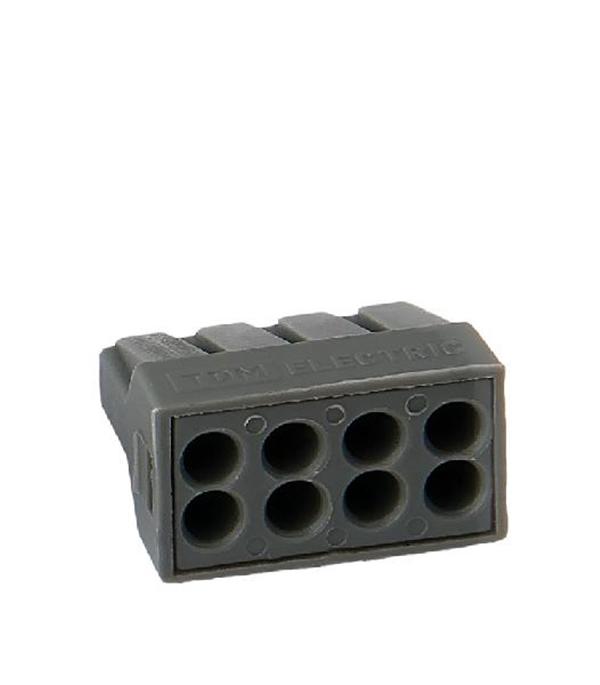 Строительно-монтажная клемма КБМ-2273-248 (2,5мм2) с пастой (5 шт/упак) TDM строительно монтажная клемма кбм 8х2 5мм 10шт blox эт 120017