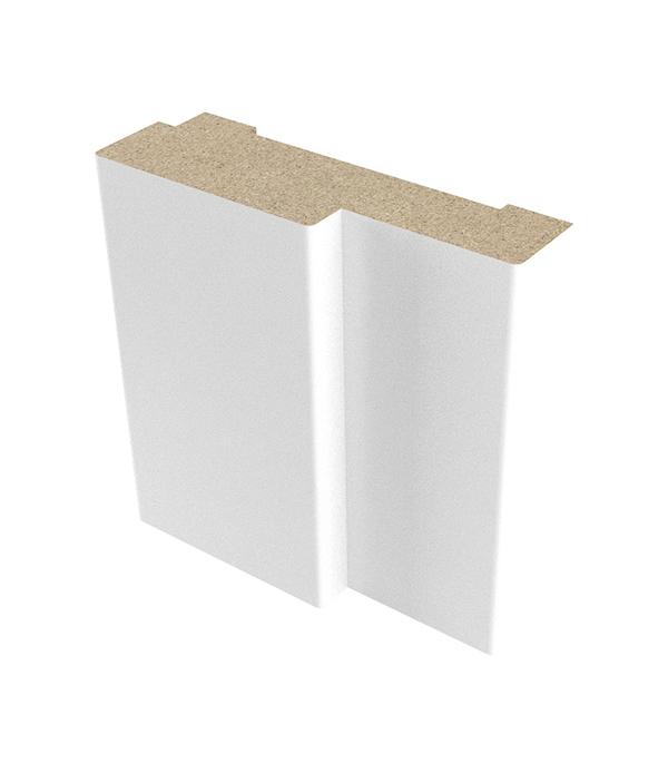Коробка дверная ламинированная в комплекте Верда 21-10 Белый 34х70 мм для ДП с притвором