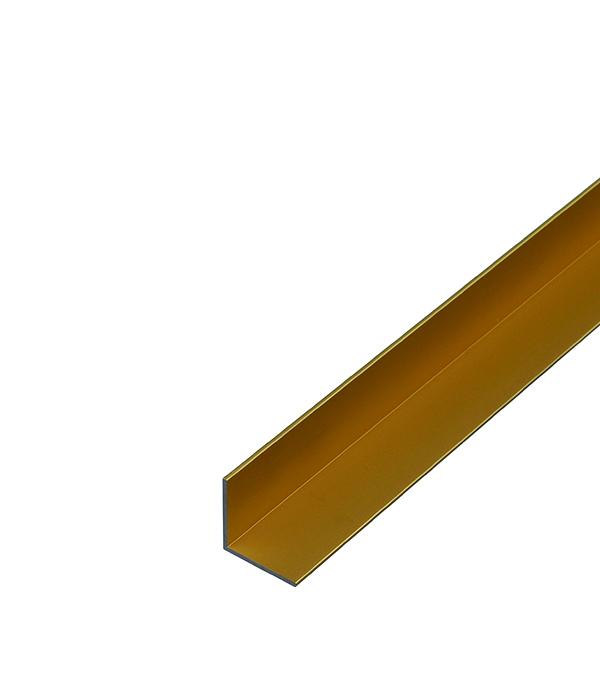 Уголок отделочный алюминиевый 15х15х1x1000 мм золотой жидкие гвозди quelyd мастификс супер сила 310 мл