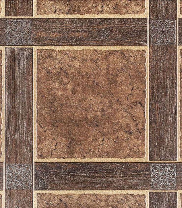 Керамогранит 500х500х9 мм Шато 4 коричневый/Керамин (5шт=1,25 кв.м)