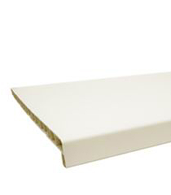 Подоконник пластиковый BRUSBOX  400x2000 белый  матовый