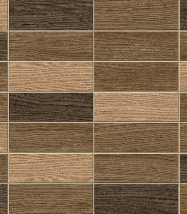 Плитка облицовочная 250х400х8 мм Карелия мозаика коричневый (15шт=1,5 кв.м)