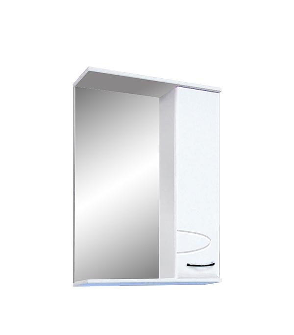 Шкаф зеркальный Санди Комфорт правое 550 мм шкаф с полками дсп и зеркальной дверью орион