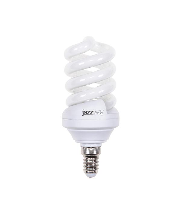 Лампа энергосберегающая  E14 15W SF ЭКО 2700K Jazzway