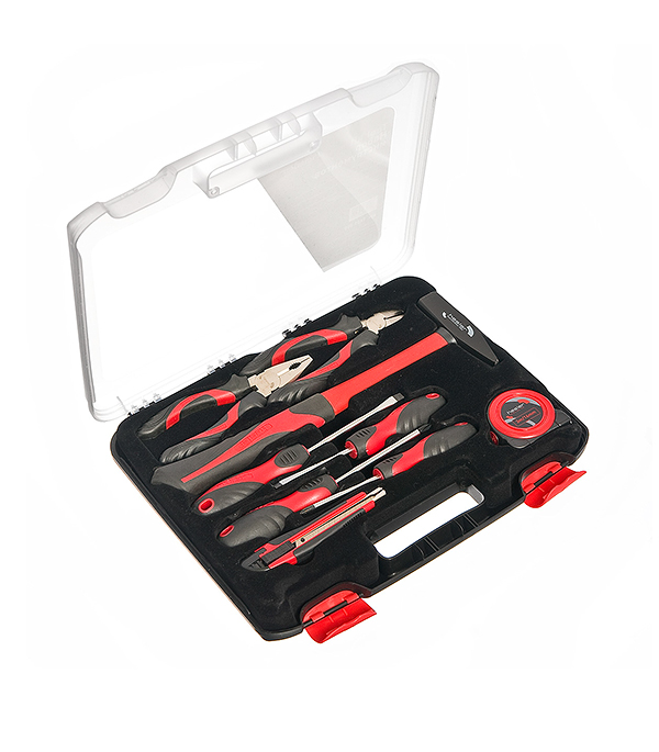 Набор инструментов Hesler 10 предметов крестовая отвертка pz2х100 мм центроинструмен 722 100