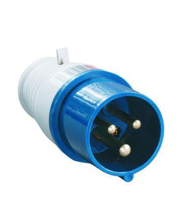 Вилка кабельная IEK 230В 2P+E 16А IP44  розетка бытовая 230в 2р 16а ip44 mennekes