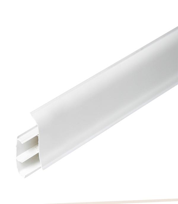 Плинтус с к/к Белый 67х22х2500 мм