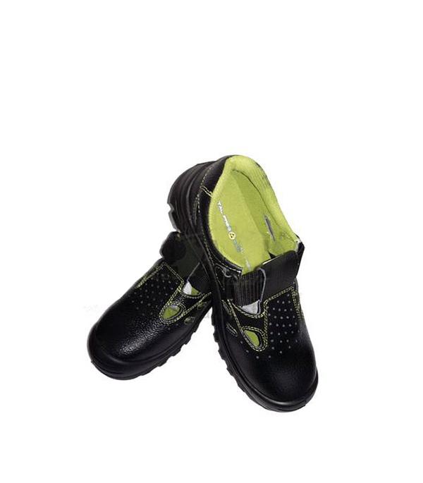 Сандалии кожаные (композитный защитный носок), размер 44
