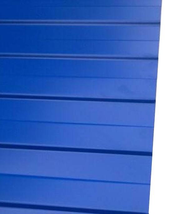 Профнастил С8 1.20х2.00 м толщина 0.37 мм синий RAL5005 профнастил н57 купить в уфе
