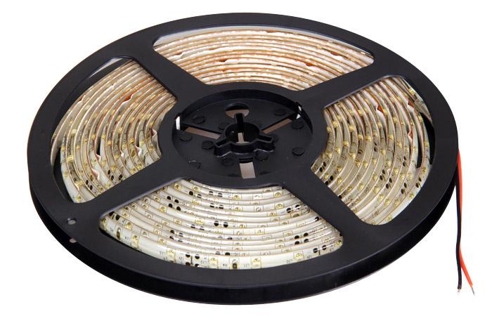 Лента светодиодная 60 LED/м, 4,8 Вт/м, 12В, IP65 (влагозащищенная), холодный, 5 м, Jazzway