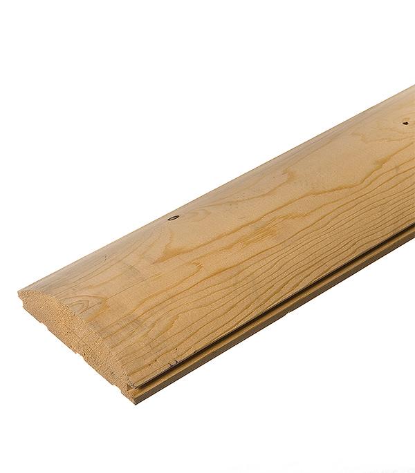 Имитатор бревна сухой (Блок хауз) 45х146х6000 мм сорт АВ (S общ.= 0.876 кв.м)