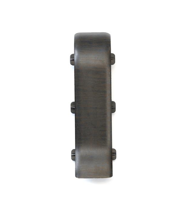 Соединитель Венге черный 67 мм 2 шт