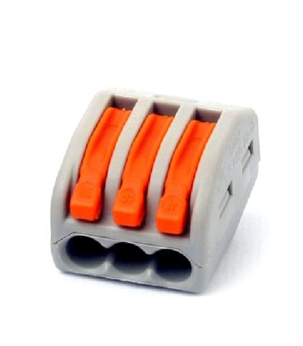 Соединительная клемма TDM на 3 провода СК-413 0.1-2.5 кв.мм без пасты (5 шт)
