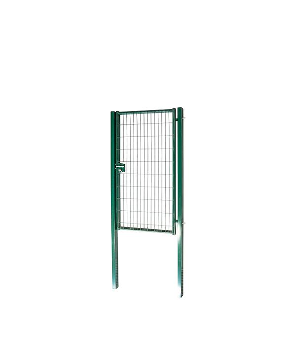 Калитка  2,03x1м яч.55х200 зеленый RAL 6005