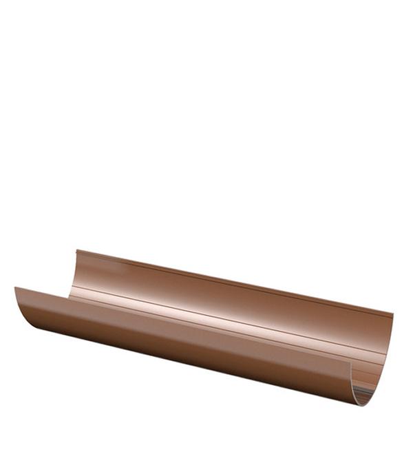 Желоб водосточный пластиковый  3м коричневый Технониколь